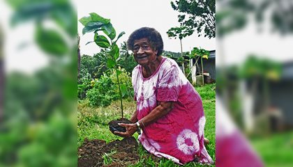 Logawai, 85, Tells Of Climate Change Impacts