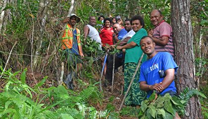 Residents Plant Trees For Future Generations